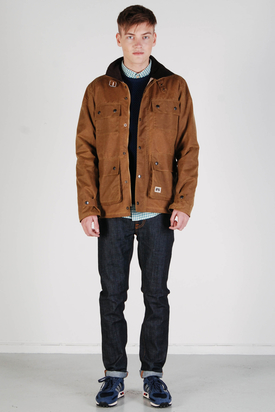 Brixtol: Cole Wax Sand Jacket