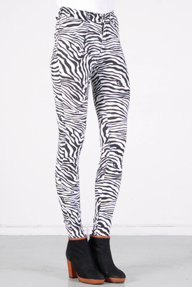 Dr Denim: Plenty Jeanstights Zebra