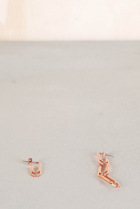 Cheap Monday: Paperclip Earrings