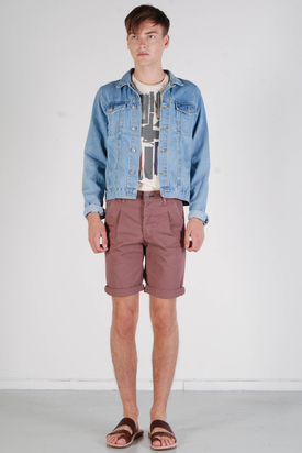 Dr Denim: Eddie Wine Vintage Shorts