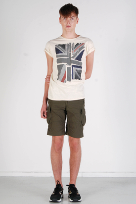 Dr Denim: Hubert Army Green Shorts