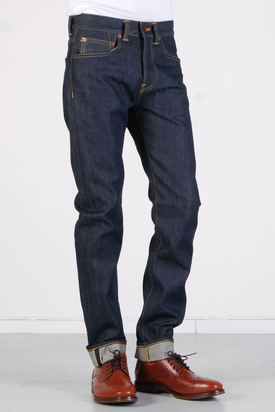 Edwin: ED-80 Slim 63 Rainbow Selvage Blue Unwashed