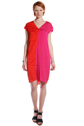 S'nob: Kiran Raspberry Sorbet Dress