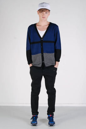 Cheap Monday: Stroke Cardigan Blue/Black