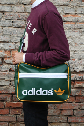 Adidas: AC Airline Green/White Bag