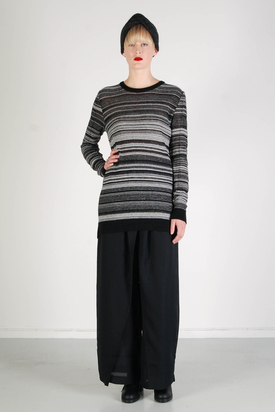 Odeur - Askew Knit Charcoal
