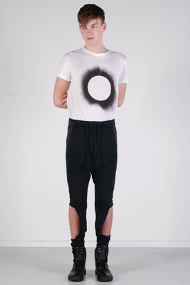 Odeur: Uncover Sweat Pants Black