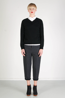 BZR: Polly Black Sweater
