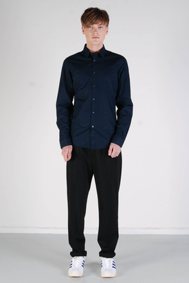 Ben Sherman: LS Shirt Soho Fit Classic Navy