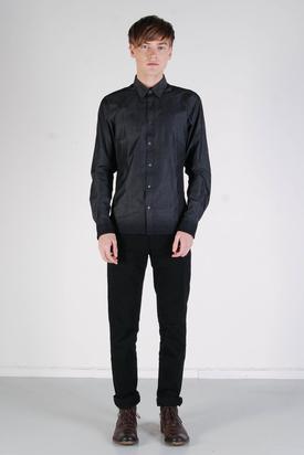 Ben Sherman: LS Shirt Soho Fit Ebony Grey