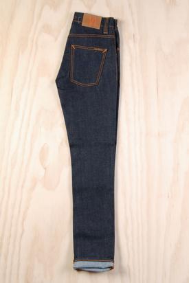 Nudie: Grim Tim Organic Dry Navy Jeans