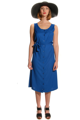 Lagom: Chain Blue Dress