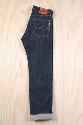 Edwin: Nashville Blue Unwashed Jeans