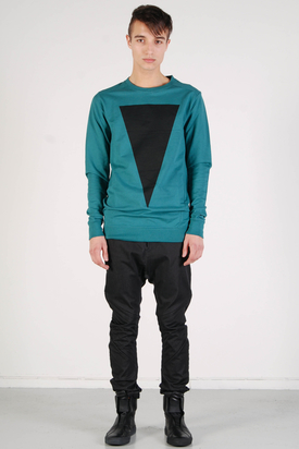 Odeur: Skew Sweat Turquoise Triangle