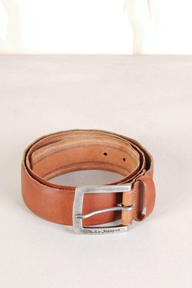 Nudie: Antonsson Vintage Used Brown Leather Belt
