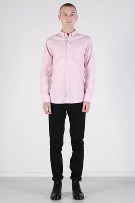 Knowledge Cotton Apparel: Button Down Oxford Shirt Light Pink