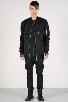Odeur: Heavy Bomber Jacket Black