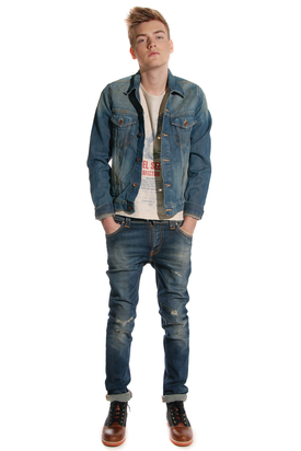 Edwin: Buddy Jacket Blue Drifter Wash